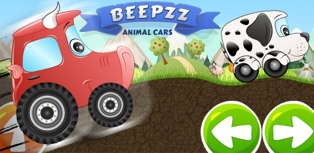 Image For: Kid's first car racing game – Beepzz