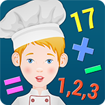 Icon For: Kids Chef – learn Math