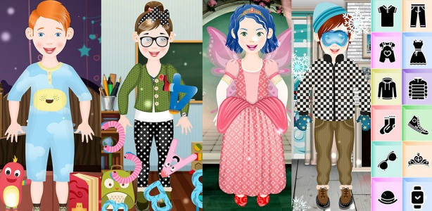 Image For: Dress up game for Kids
