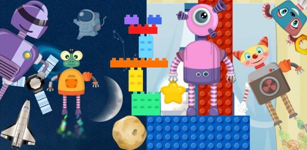 Image For: Robot game for preschool Kids